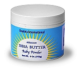 100% Pure African Shea Butter - Baby Powder - 4 oz