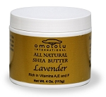 100% Pure African Shea Butter - Lavender - 4 oz - Case (Qty 24)