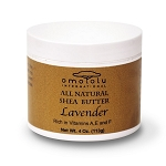 100% Pure African Shea Butter - Lavender - 4 oz